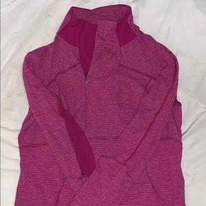 Pink lulu pullover